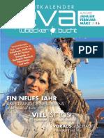 EVA  - Eventkalender Lübecker Bucht Januar - März 2016