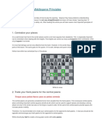 Important Middlegame Principles