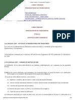 3Código Tributario - Procedimientos Tributarios