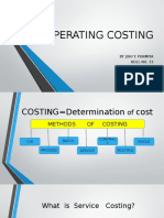 Operating Costing Ppt