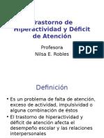 Trastorno de Hiperactividad y Déficit de Atención(Catolica)