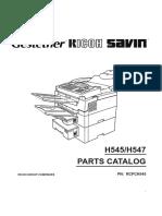 2000L, 2900L Parts Manual
