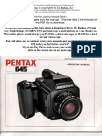 Pentax 645 manual