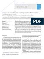 3-D Pore-scale Resolved Model for Coupled Species Charge Fluid Transport in a VRFB 2012