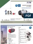 HP Series Rotary Actuator Datasheet