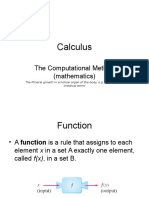 Calculus Function