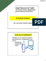 1. El Producto Software