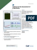 The Histone Antibody Database