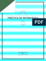 Pràctica de Informàtica- Secciones 1
