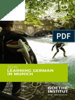Learning German in Munich 2015