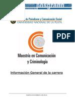 Información General de La Maestría