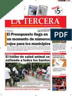 Diario La Tercera 18.01.2016