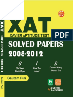 XAT Critical Reasoning 2008-12