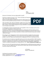 Lettre Clubs 2010