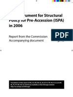 The Instrument for Structural Policy for Pre-Accession (ISPA) in 2006