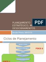 Planejamento Estratégico Metas e Desdobramentos Rev 08.03.10