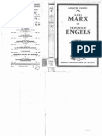 Auguste Cornu, Karl Marx Et Friedrich Engels - Tome III