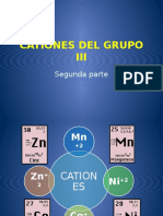 CLASE 9 Cationes G3 2 Parte Zn Mn Co Ni
