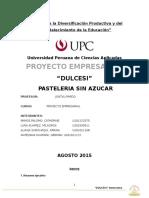 Proyecto Empresarial Final - Dulcesi