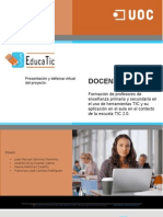 Proyecto educatic