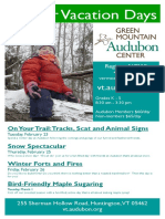 Winter Vacation Days Flyer 2016