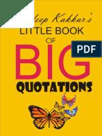 Sandeep Kakkar's Little Book of Big Quotations