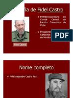 Biografia Fidel Castro