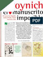 Historia Oculta - Voinich El Manuscrito Imposible R-006 Nº139 - Mas Alla de La Ciencia - Vicufo2
