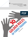 10 Golden Rules of Forex Trading