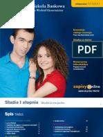 Informator 2010 - Studia I stopnia - Wydział Ekonomiczny w Opolu WSB we Wrocławiu