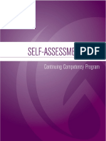 clpna self-assessment tool for portfolio
