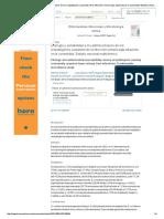 Etiología y Sensibilidad a Los Antimicrobianos de Los Uropatógenos Causantes de La Infección Urinaria