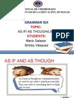 Grammar as If