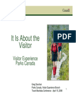 Customer Experience Parks Canada