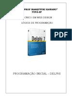 PROGRAMAÇÃO INICIAL - DELPHI