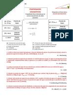 Ejercicios Propiedades Coligativas 3er Año de Quimica.