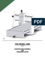 CNC Model 2006 R-2 Manual