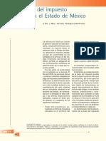 Dictamen Del Impuesto Predial en El Estado de México