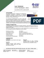 Superflex-EVA 3x120 +1x70 mm2 1kV rev 3