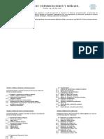 Temario Comunicaciones y Señales 2015