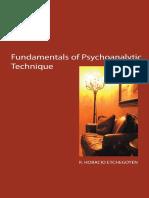 The Fundamentals of psychoanalysis