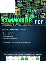 Commodity Markets (1)