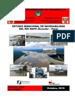 01 - Navegabilidad Rio Napo - Inf Fin - Vol I - Antecedentes y Estado Actual