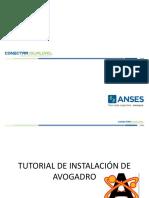 tutorial instalación avogadro