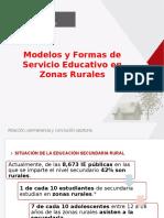 Ppt Modelos Secundaria Rural 16.02.15