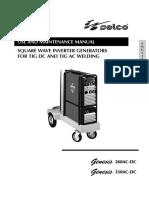 Selco Genesis 260 ACDC manual