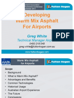 Warm Mix Asphalt for Airports