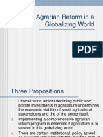 07 Agrarian Reform in a Globalizing World - Prof. Maria Dolores Bernabe