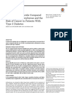26341130_ the Use of Glyburide Compared With Other Sulfonylureas and the Risk of Cancer in Patients With Type 2 Diabetes