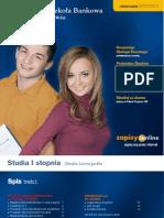 Informator 2010 - Studia I stopnia - Wyższa Szkoła Bankowa we Wrocławiu